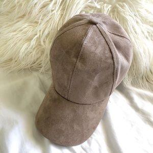 Accessories - 🍊 Suede Baseball cap hat
